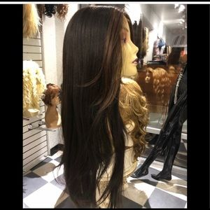Accessories - Long Lacefront Swisslace wig brown 2019 hairstyle